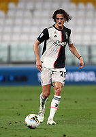 Calcio, Serie A: Juventus - Sampdoria, Turin, Allianz Stadium, July 26, 2020.<br /> Juventus' Adrian Rabiot in action during the Italian Serie A football match between Juventus and - Sampdoria at the Allianz stadium in Turin, July 26, 2020.<br /> UPDATE IMAGES PRESS/Isabella Bonotto