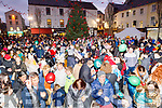 Enjoying the atmosphere on Saturday at the Lighting of the Christmas tree in the Square.