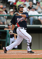 17 March 2009: Photo of the Atlanta Braves in a game against the New York Mets at the Braves' Spring Training camp at Disney's Wide World of Sports in Lake Buena Vista, Fla. Photo by:  Tom Priddy/Four Seam Images