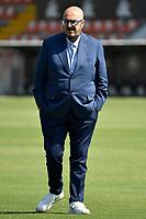 Udinese manager Pierpaolo Marino looks on prior to the Serie A football match between Spezia Calcio and Udinese Calcio at Alberto Picco stadium in La Spezia (Italy), September 12th, 2021. Photo Andrea Staccioli / Insidefoto