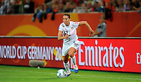 Lauren Cheney of team USA during the FIFA Women's World Cup at the FIFA Stadium in Wolfsburg, Germany on July 6thd, 2011.