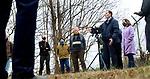 SEYMOUR CT. - 28 December 2020-122820SV02-Sen. Richard Blumenthal along with river activists held a press conference to talk about removing the Kinneytown Dam in Seymour Monday.<br /> Steven Valenti Republican-American