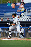 Hudson Valley Renegades first baseman Nathaniel Lowe (36) at bat during a game against the Batavia Muckdogs on July 31, 2016 at Dwyer Stadium in Batavia, New York.  Hudson Valley defeated Batavia 4-1.  (Mike Janes/Four Seam Images)