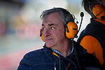 Rally driver Carlos Sainz during the tests for the new Formula One Grand Prix season at the Circuit de Catalunya in Montmelo, Barcelona. February 19, 2020 (ALTERPHOTOS/Javier Martínez de la Puente)