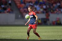 Houston, TX - Sunday Oct. 09, 2016: Alyssa Kleiner during a National Women's Soccer League (NWSL) Championship match between the Washington Spirit and the Western New York Flash at BBVA Compass Stadium.