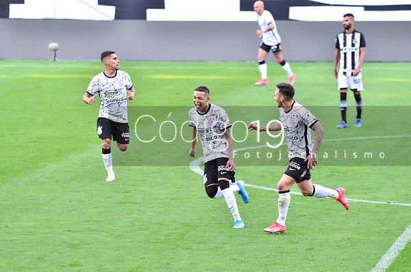 São Paulo (SP), 15/08/2021 - CORINTHIANS-CEARÁ - Adson, do Corinthians comemora o gol. Corinthians e Ceará, a partida é válida pela 15ª rodada do Campeonato Brasileiro 2021, Neo Química Arena, neste domingo (15).