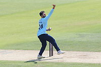 Aron Nijjar in bowling action for Essex during Hampshire Hawks vs Essex Eagles, Royal London One-Day Cup Cricket at The Ageas Bowl on 22nd July 2021
