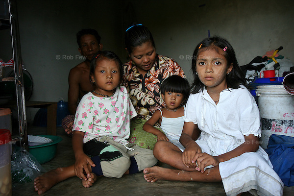 This family of five was accused by their last employer of stealing. Accusations such as this are a common way for employers to avoid paying workers once a job is done. Penniless, this family now stays in a single room at the Grassroots shelter while looking for new work.<br /> <br /> Like migrant communities all over the world, the Burmese in Thailand are often reviled by their hosts. as lazy, dirty and dishonest. The truth, as always, is completely different.