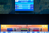 Gold Medal<br /> UKRAINE<br /> ALEKSIIVAMaryna/ALEKSIIVAVladyslava<br /> FIEDINAMarta/HRYSHKOVeronika<br /> NOSOVAAnna/REZNIKKateryna<br /> SAVCHUKAnastasiya/SHYNKARENKOAlina<br /> SYDORENKOKseniya/YAKHNOYelyzaveta<br /> Silver Medal<br /> BELARUS<br /> BUTSELVera/KIRYLIUKMarharyta<br /> KOUTSUNHanna/KUDZINAYana<br /> KULIASHOVAKseniya/NAVASIOLAVAAnastasiya<br /> PUZValeryia/SUVALAVAAnastasiya<br /> TRATSEUSKAYAKseniya/VYSOTSKAYAAliaksandra<br /> Bronze Medal<br /> HUNGARY<br /> BARTANike'/CSILLINGKatalin<br /> FARKASLinda/GACSBoglarka<br /> GOTZLilien/HATALAHanna<br /> HUNGLERSzabina/REGENYIAdelin<br /> RENYILuca/SZABOAnna Viktoria<br /> Highlights Final<br /> Artistic Swimming<br /> Budapest  - Hungary  15/5/2021<br /> Duna Arena<br /> XXXV LEN European Aquatic Championships<br /> Photo Pasquale Mesiano / Deepbluemedia / Insidefoto
