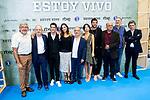 Alejo Sauras, Cristina Plazas, Javier Gutierrez, Anna Castillo and Alfonso Bassave attends to presentation of 'Estoy Vivo' during FestVal in Vitoria, Spain. September 04, 2018. (ALTERPHOTOS/Borja B.Hojas)