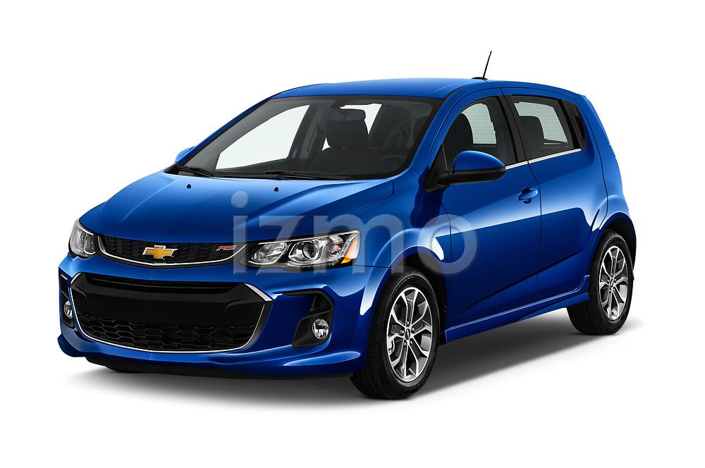 2020 Chevrolet Sonic LT RS Select Doors Door Hatchback angular front stock photos of front three quarter view