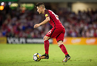 Orlando, FL - Friday Oct. 06, 2017: Jorge Villafaña during a 2018 FIFA World Cup Qualifier between the men's national teams of the United States (USA) and Panama (PAN) at Orlando City Stadium.