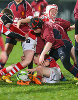 Friday 14th December 2018   Ulster Rugby vs Scarlets<br /> <br /> Halftime mini-rugby during the Round 4 Heineken Cup clash against Scarlets at Kingspan Stadium, Ravenhill Park, Belfast, Northern Ireland. Photo by John Dickson / DICKSONDIGITAL
