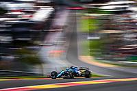 28th August 2021; Spa Francorchamps, Stavelot, Belgium: FIA F1 Grand Prix of Belgium, qualifying sessions;   14 ALONSO Fernando spa, Alpine F1 A521