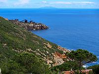 Aufgelassene Mine, Calamita Halbinsel-Miniera di Calamita, Elba, Region Toskana, Provinz Livorno, Italien, Europa