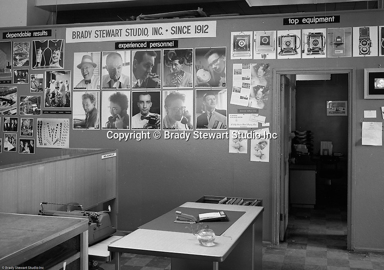 Pittsburgh PA:  View the Brady Stewart Studio promotional exhibit at Ketchum McLeod and Grove Advertising offices in the Chamber of Commerce Building.  Brady Stewart Studio was a long-time provider of photographic services for Ketchum 1927-1991