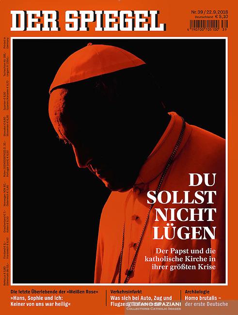Pope Francis Der Spigel September 22, 2018