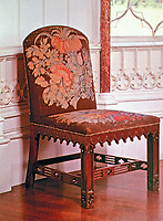 Arbury Hall--example of furnishings and decoration.