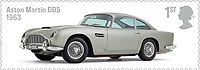 BNPS.co.uk (01202 558833)<br /> Pic: Silverstone/BNPS<br /> <br /> Stamp of approval...<br /> <br /> A classic Aston Martin DB5 that featured on a limited edition commemorative stamp has sold for £607,000.<br /> <br /> The 1965 motor was hand-picked by the Royal Mail in 2013 to celebrate the best of the British car building industry.<br /> <br /> The first class stamp inspired former Top Gear host Chris Evans to buy the car later that year and he kept it for around 12 months, before it passed into the hands of a private collector.<br /> <br /> The James-Bond style GT car, which is in pristine condition, went under the hammer with Silverstone Auctions of Ashorne, Warwicks.