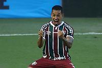 Santos (SP), 21.02.2020 - Santos-Fluminense - O jogador Lucca comemora gol. Partida entre Santos e Fluminense valida pela 37. rodada do Campeonato Brasileiro neste domingo (21) no estadio da Vila Belmiro em Santos.