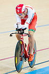Mikhail Shemetau of the Belarus team competes in the Men's Individual Pursuit - Qualifying as part of the 2017 UCI Track Cycling World Championships on 14 April 2017, in Hong Kong Velodrome, Hong Kong, China. Photo by Marcio Rodrigo Machado / Power Sport Images