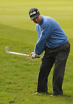 3 October 2008: Charles Warren hits an approach shot during the second round at the Turning Stone Golf Championship in Verona, New York.