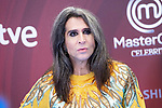 Maria Vaquerizo attends to presentation of 'Master Chef Celebrity' during FestVal in Vitoria, Spain. September 06, 2018. (ALTERPHOTOS/Borja B.Hojas)