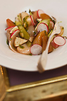 Europe/France/Limousin/19/Corrèze/Brive-la-Gaillarde:  Légumes à la grecque, recette de Francis Tessandier - restaurant: Chez Francis
