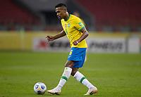 4th June 2021; Beira-Rio Stadium, Porto Alegre, Brazil; Qatar 2022 qualifiers; Brazil versus Ecuador; Alex Sandro of Brazil