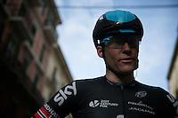 Lars Petter Nordhaug (NOR/SKY) post-race<br /> <br /> 106th Milano - San Remo 2015