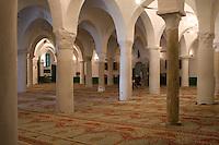 Tripoli, Libya - Al-Nagah Mosque, Tripoli Medina (Old City).  Tripoli's First Mosque, Rebuilt 17th Century.
