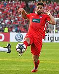 10.08.2019, Donaustadion, Ulm, GER, DFB Pokal, SSV Ulm 1846 Fussball vs 1. FC Heidenheim, <br /> DFL REGULATIONS PROHIBIT ANY USE OF PHOTOGRAPHS AS IMAGE SEQUENCES AND/OR QUASI-VIDEO, <br /> im Bild Stefan Schimmer (Heidenheim, #9)<br /> <br /> Foto © nordphoto / Hafner