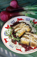 """Europe/France/Aquitaine/64/Pyrénées-Atlantiques/Saint-Jean-de-Luz: Terrine de lapin aux aubergines - Recette du restaurant """"le Patio"""""""