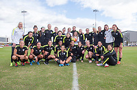 Phoenix, AZ - December 12, 2015:  The USWNT trained in preparation for their match against China during the Victory Tour.