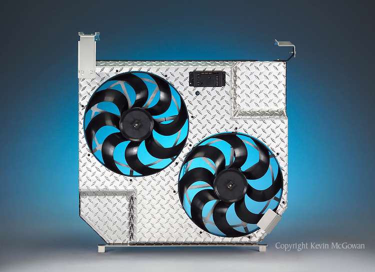 Dual Truck Cooling Fans