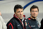 International Friendly match between Wales and Scotland at the new Cardiff City Stadium : Assistant Wales Manager Dean Saunders.