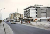 Abu Dhabi, UAE, Street Scene. Photographed March 1972.