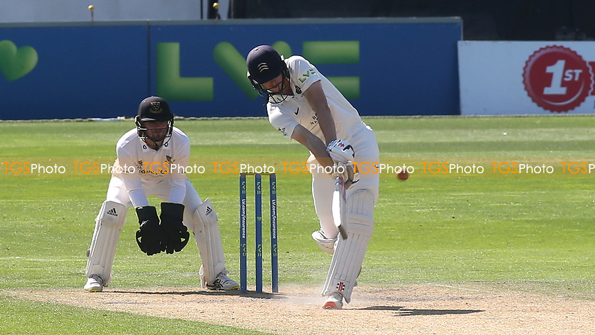 Martin Andersson of Middlesex in batting action during Sussex CCC vs Middlesex CCC, LV Insurance County Championship Division 3 Cricket at The 1st Central County Ground on 7th September 2021