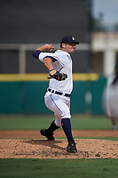 Detroit Tigers pitcher Jared Tobey (56) during a Florida Instructional League game against the Pittsburgh Pirates on October 16, 2020 at Joker Marchant Stadium in Lakeland, Florida.  (Mike Janes/Four Seam Images)