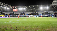 SWANSEA, WALES - NOVEMBER 12: USA vs Wales and Liberty stadium during a game between Wales and USMNT at Liberty Stadium on November 12, 2020 in Swansea, Wales.