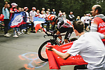 Jasper De Buyst (BEL) Lotto-Soudal in action during Stage 5 of the 2021 Tour de France, an individual time trial running 27.2km from Change to Laval, France. 30th June 2021.  <br /> Picture: A.S.O./Pauline Ballet | Cyclefile<br /> <br /> All photos usage must carry mandatory copyright credit (© Cyclefile | A.S.O./Pauline Ballet)