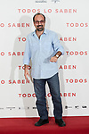 Asghar Farhadi attends to 'Todos lo Saben' film photocall at Urso Hotel in Madrid, Spain. September 12, 2018. (ALTERPHOTOS/A. Perez Meca)