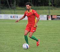Sporting Menen - KV Oostende : Georgios Kaminiaris<br /> foto VDB / Bart Vandenbroucke