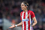 Filipe Luis of Atletico de Madrid reacts during their Copa del Rey 2016-17 Semi-final match between FC Barcelona and Atletico de Madrid at the Camp Nou on 07 February 2017 in Barcelona, Spain. Photo by Diego Gonzalez Souto / Power Sport Images
