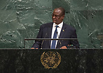 72 General Debate – 23rd of September  2017<br /> <br /> H.E. TABAN Deng Gai<br /> First Vice President of<br /> SOUTH SUDAN