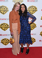 Rosario Dawson + Katherine Heigl @ the photocall for WB films presentation held @ The Colosseum at Caesars Palace.<br /> March 29, 2017 , Las Vegas, USA. # CINEMA CON 2017 - PHOTOCALL WB STUDIOS