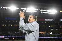 Saint Paul, MN - SEPTEMBER 03: Tobin Heath #17 of the United States celebrates during their 2019 Victory Tour match versus Portugal at Allianz Field, on September 03, 2019 in Saint Paul, Minnesota.