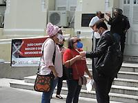08/06/2021 - SERVIDORES PROTESTAM NA PREFEITURA DE RECIFE
