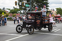 Ford Model T vintage truck, Independence Day Parade 2016, Burien, Washington, USA.