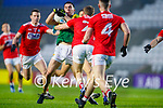 Brian Ó Beaglaoich, Kerry in action against Mattie Taylor, Cork, during the Munster GAA Football Senior Championship Semi-Final match between Cork and Kerry at Páirc Uí Chaoimh in Cork.